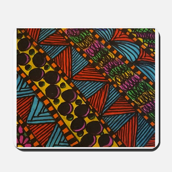 Wild stripes Mousepad