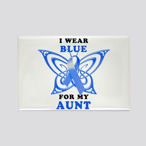 I Wear Blue for my Aunt Rectangle Magnet