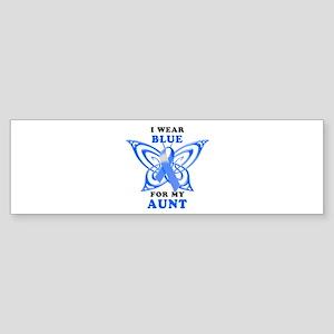 I Wear Blue for my Aunt Sticker (Bumper)