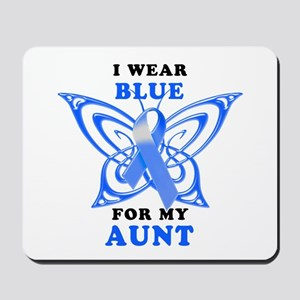I Wear Blue for my Aunt Mousepad