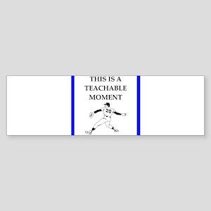 Baseball joke Bumper Sticker