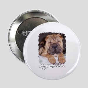 HUGS AND KISSES Button