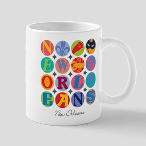 New Orleans Nawlins Themes Mug