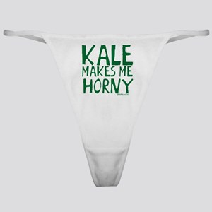 Kale Makes Me Horny Classic Thong
