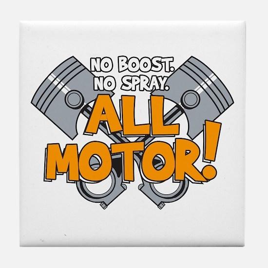 All Motor Tile Coaster