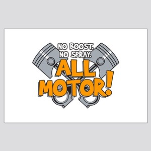 All Motor Large Poster