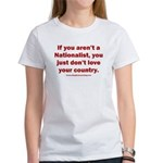 Proud Nationalist Women's Classic T-Shirt