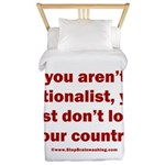 Proud Nationalist Twin Duvet Cover
