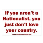 Proud Nationalist Postcards (Package of 8)