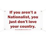 Proud Nationalist Banner