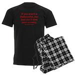 Proud Nationalist Men's Dark Pajamas