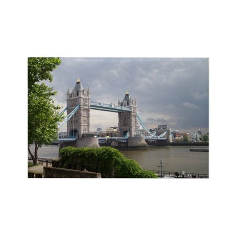 Tower Bridge - London Rectangle Magnet (100 pack)