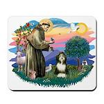 St Francis #2/ Beardie (#8) Mousepad