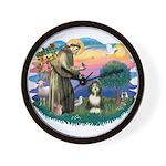 St Francis #2/ Beardie (#8) Wall Clock