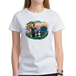 St Francis #2/ Beardie (#8) Women's T-Shirt