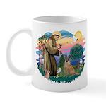 St Francis #2/ Bel Malanois Mug