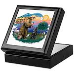 St Francis #2/ B Shepherd Keepsake Box