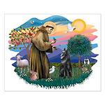St Francis #2/ B Shepherd Small Poster