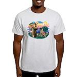 St Francis #2/ Bull Mastiff Light T-Shirt
