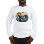 St Francis #2/ Bull Mastiff Long Sleeve T-Shirt