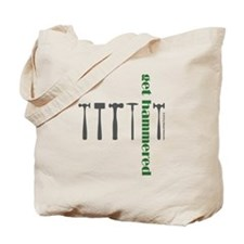 Get Hammered in Green Tote Bag