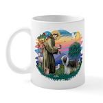 St Francis #2/ Beardie (sw) Mug