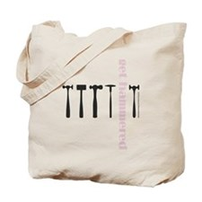Get Hammered in Pink - Tote Bag