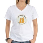 The Daily Corgi Women's V-Neck T-Shirt