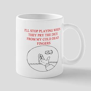craps player joke Mug