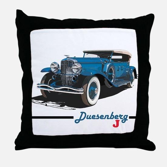 Cute Automobiles Throw Pillow
