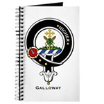 Galloway Clan Crest Badge Journal