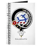 Galbraith Clan Crest Badge Journal