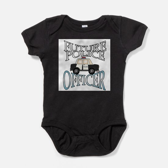 Future Police Officer Infant Creeper Body Suit