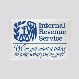 IRS: We've Got What It Takes Rectangle Magnet