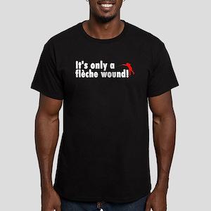 Fleche Wound Men's Fitted Dark T-Shirt