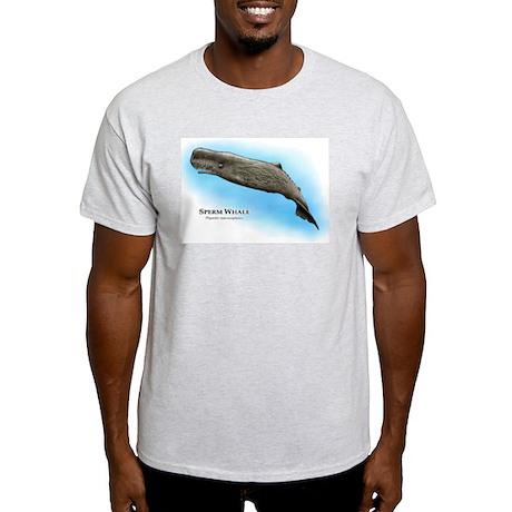 Sperm Whale Light T-Shirt