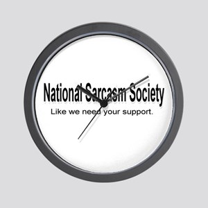 National Sarcasm Society ... Wall Clock