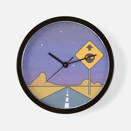 The Paradise Ranch Logo 1 Wall Clock