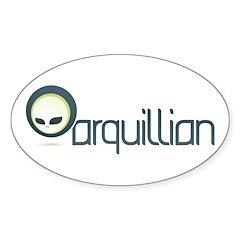 Arquillian Sticker (Oval)