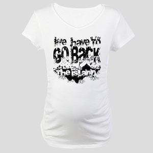 Go Back Maternity T-Shirt
