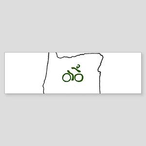 Bike in Oregon Sticker (Bumper)