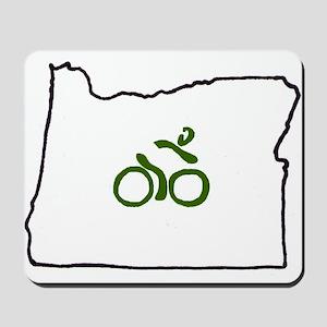 Bike in Oregon Mousepad