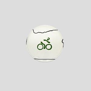 Bike in Oregon Mini Button
