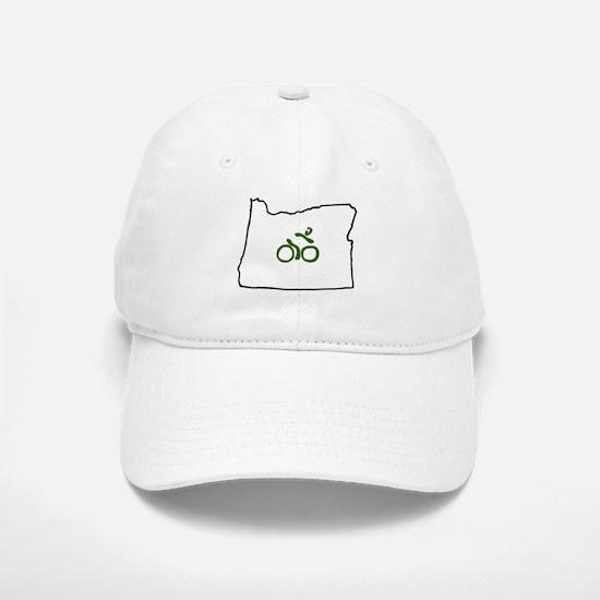 Bike in Oregon Baseball Baseball Cap