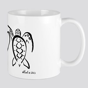 Peace, Love & Turtles Mug