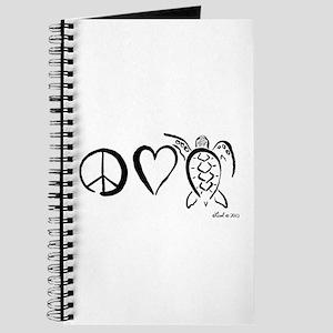 Peace, Love & Turtles Journal