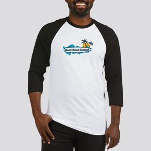 Bald Head Island NC - Surf Design Baseball Jersey