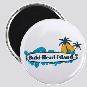 Bald Head Island NC - Surf Design Magnet