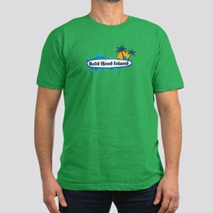 Bald Head Island NC - Surf Design Men's Fitted T-S