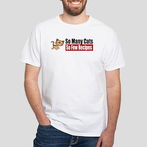 So Many Cats White T-Shirt
